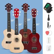 More details for 21/23 inch ukulele musical instrument gig bag, fretboard stickers beginners