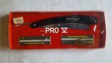 Mid Century Continental Pro 5 Hair & Bear Razor NOS with 10 Extra Blades Japan