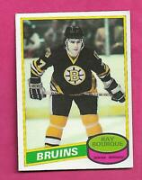 1980-81 OPC  # 140 BRUINS RAY BOURQUE ROOKIE EX-MT CARD (INV# D0023)
