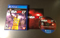 NBA 2K17 Legend Edition Kobe Bryant Cover PlayStation 4 PS4 Game (VERY GOOD)