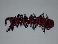 TANKARD THRASH METAL IRON ON EMBROIDERED PATCH
