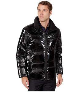 TUMI High Shine Luxe Down Jacket Black Men's coat Size M Medium New