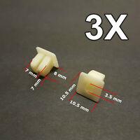 Mopar Body Bolts /& Barbed Nuts 20 pcs #122 M6-1.0 x 25mm Long 10mm Hex