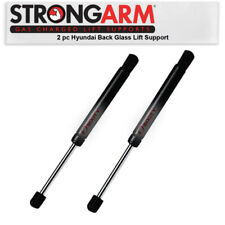 2 pc Strong Arm Back Glass Lift Supports for Hyundai Santa Fe 2001-2006 - xa