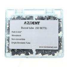 2X Azdent Dental Orthodontic Buccal Tubes 1st Molar Bondable Non-Convertible CA