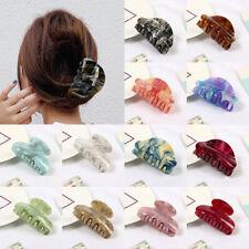 Fashion Acrylic Hair Claws Crab Clamp Hair Clips Make Up Hairpins Accessories