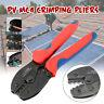 MC4 Solar PV Terminals Cable Connector Crimping Pliers Tools Ratcheting Crimper