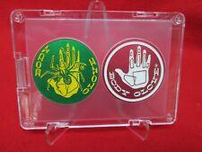 2 Vintage 1993 ProCaps Official BODY GLOVE Licensed aluminum slammers pog & case