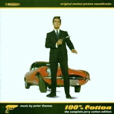 CD: PETER THOMAS 100% Cotton: The Complete Jerry Cotton Edition VG 2 discs