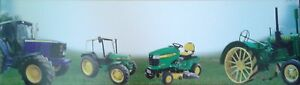 JOHN DEERE (#307-3) POSTER/BANNER  PERSONALIZATION WITH YOUR NAME.