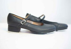 Bloch Techno Tap Dance Shoes Womens Girls Youth Leather Size  5 Mary Jane Style