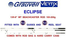 "GRAUVELL VERTIX ECLIPSE MT 13ft-8"" SURF ROD+BAG & CASE SEA FISHING BEACHCASTER"