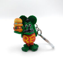 Rat Fink Ed Roth Big Daddy Color Charm Charapin Custom Key Chain Action Figure