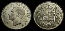 Canada 1952 50 Cents King George VI MS-62