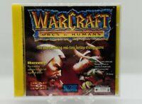 Brand New Factory Sealed Warcraft Orcs & and Humans Rare PC vga wata ready grail
