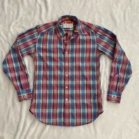 Robert Graham Freshly Laundered Button Up Shirt, Plaid, Mens size S