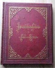 DEUTSCHES LEBEN IN LIEB UND TREUE Bremen Verlag MULLER Circa. 1885 Chromos
