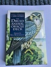 DRUID ANIMAL ORACLE DECK TAROT CARDS 48 Page Booklet Cat Sanctuary in rural KY