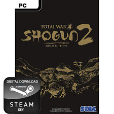 TOTAL WAR SHOGUN 2 GOLD EDITION PC, MAC AND LINUX STEAM KEY