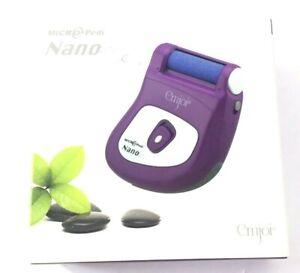Emjoi Micro-Pedi Nano The Portable Pedicure New In Open Box Purple~Free Shipping