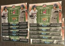 10x CARD LOT CLINT FRAZIER AUSTIN MEADOWS 2013 BOWMAN DRAFT DUAL DRAFTEE FM