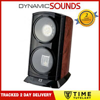 Time Tutelary KA015 Burl Tower Dual Automatic Watch Winder For 2 Watches Burl