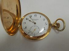 Rare Audemars Freres 14K Gold Pocket Watch