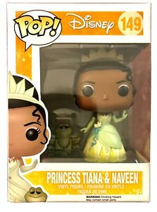 Funko POP Disney Princess Tiana & Naveen The Frog  # 149 Vaulted NEW Condition