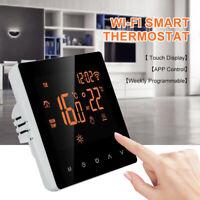 Programmable Thermostat Smart LCD Digital Temperature Remote App Control WiFi