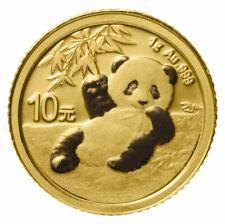 2020 China 1 g Gold Panda ¥10 Coin GEM BU SKU59890