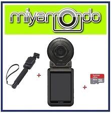 Casio Exilim FR100 + 32GB + EAM-4 Monopod (Black)
