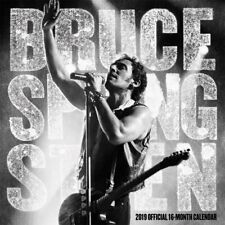 Bruce Springsteen 2019 (Official 16-Month Square Wall Calendar)