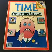 VTG Time Magazine February 18 1980 - Operation Abscam / Tghe FBI Stings Congress