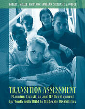 USED (GD) Transition Assessment: Planning Transition and IEP Development for You