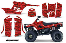 AMR Graphic Decal Sticker Kit Polaris TrailBoss ATV Boss Parts 04-09 DCR