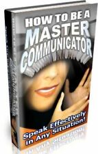 How To Be A Master Communicator Audio Text Self Help CD Rom