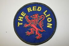 The Red Lion Embroidered Patch IRON ON - P056- BUY 2 GET 1 FREE!