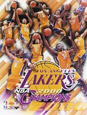 "2000 Los Angeles Lakers Championship 8"" x 10"" Composite Photo"