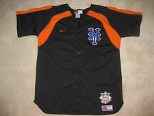 New York Mets Black Nike Jersey Youth LG 14-16