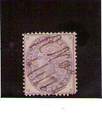 Gran Bretaña fiscal postal año 1871 (T-178)
