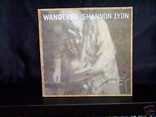 SHANNON LYON WANDERED - CD NM