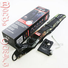 Carry Speed FS-2 Sling Strap with F-1 foldable plate for DSLR Canon Nikon - Camo