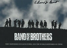 Edward Bernant signed autograph Wwii Band of Brothers Rare Coa Look!