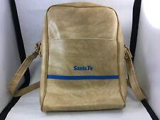 Vintage Santa Fe Pacific Corp Light Brown Leather Bag Saddle Over Shoulder