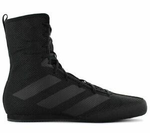 adidas Box Hog 3 Boxstiefel Schwarz F99921 Boxer Sport Schuhe Boxschuhe NEU