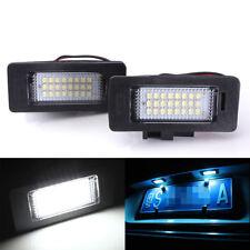 2x License Number Plate Light 24 LED For Audi A4 B8 A5 S5 TT Q5 VW Passat R36