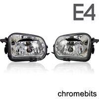 Mercedes SLK R171 2004-2011 Fog Spot Lights Lamps 1 Pair + H11 Bulbs E-Marked
