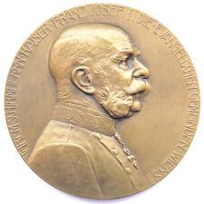 Medaille 1911, 50. Gedenkfeier des Protestantenpatents, Franz Joseph I.