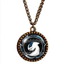 Pokemon Lugia Necklace Anime Symbol Pendant Jewelry Cosplay Charm