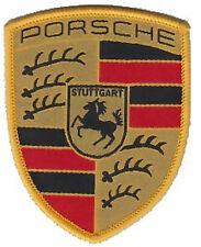 Véritable Porsche Tissu coudre Coloré Crest - Siège Ensembles Manteau